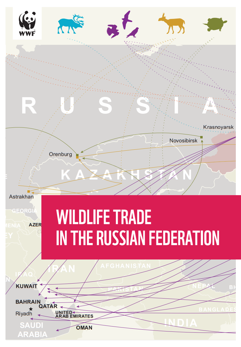 Wildlife trade in the Russian Federation, 2020