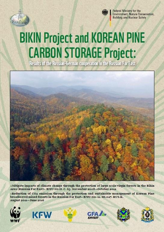 BIKIN Project and KOREAN PINE CARBON STORAGE Project