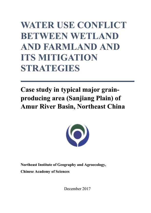 Water use conflict between wetland and farmland and its mitigation strategies