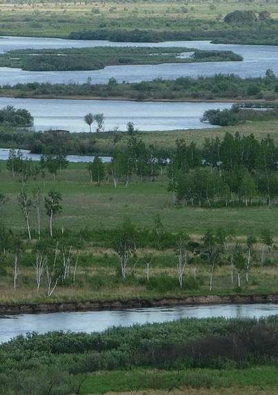 Catastrophic flooding on Amur and its consequences