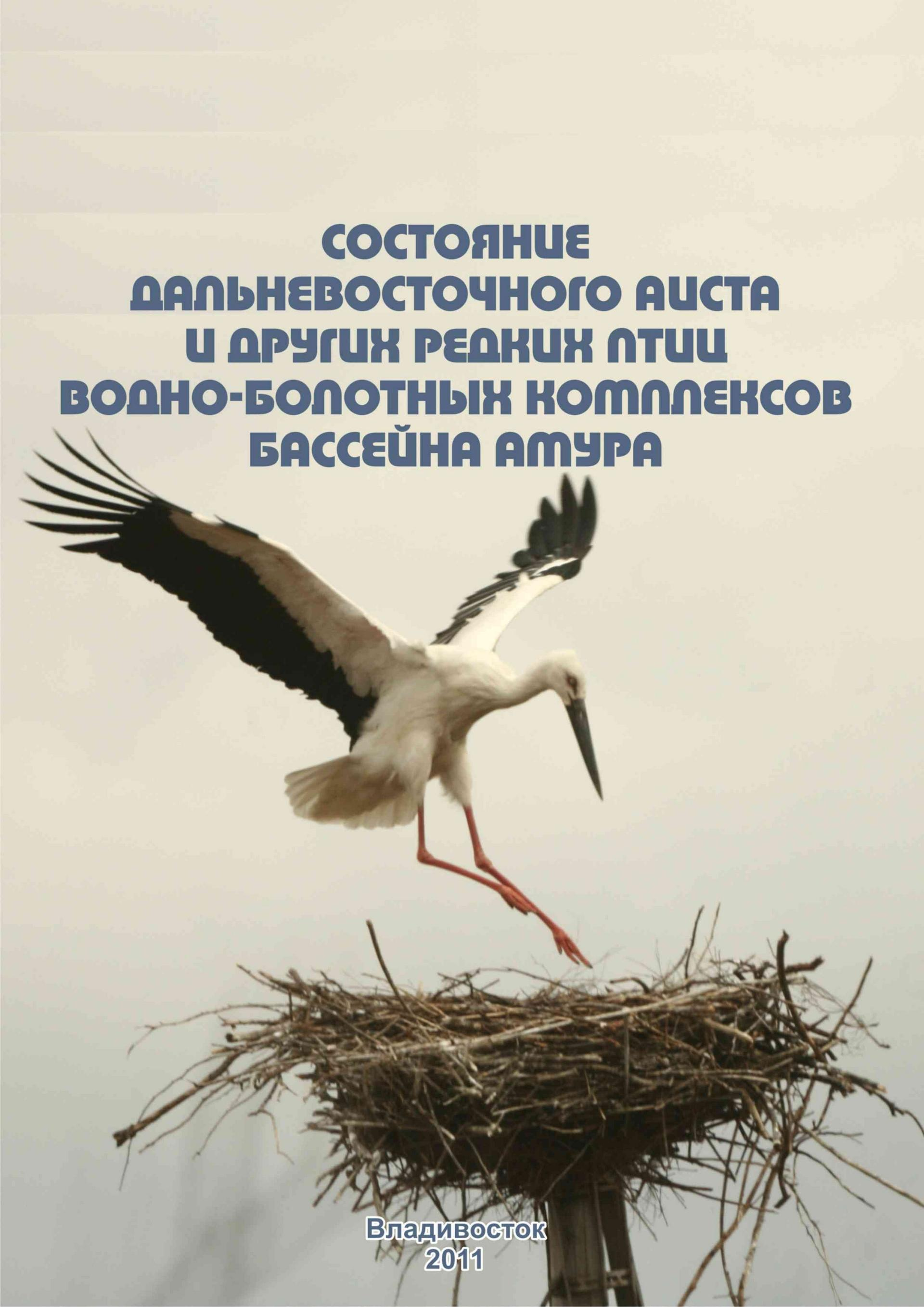 Status of Oriental white stork and other rare birds of the Amur wetlands